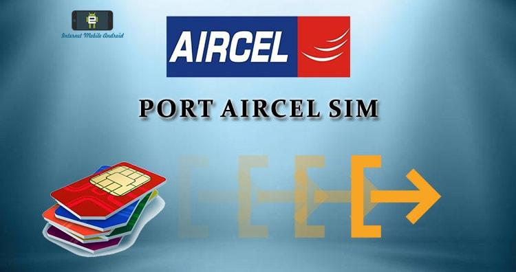 Port Aircel in Jio, Airtel, Idea, BSNL, Vodafone, tata docomo