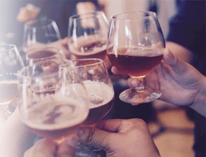 الإسهال الكحولية
