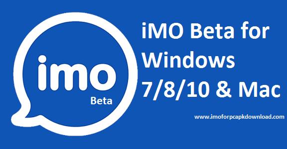 imo beta for pc