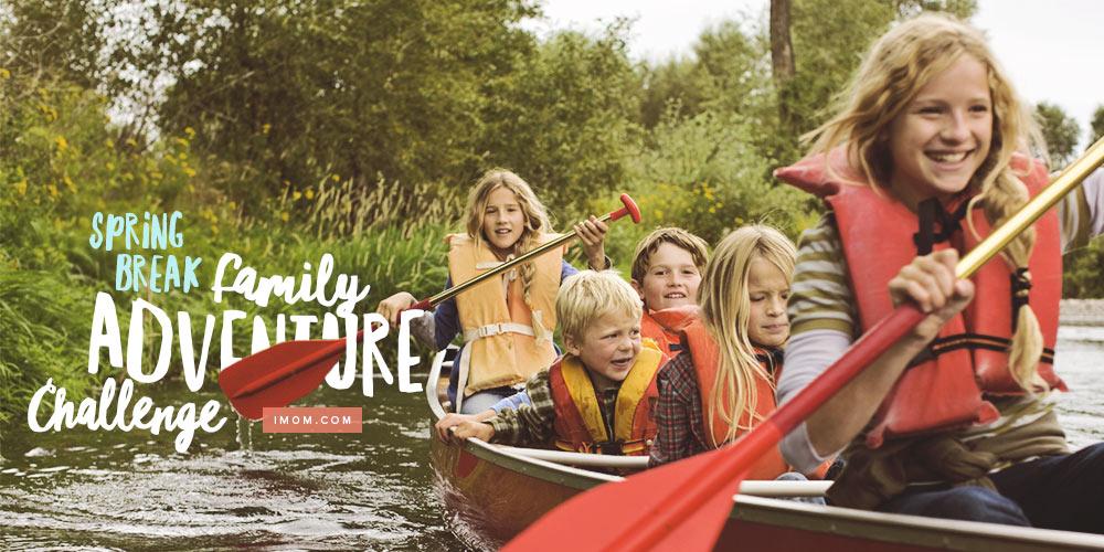 Spring Break Family Adventure Challenge IMom