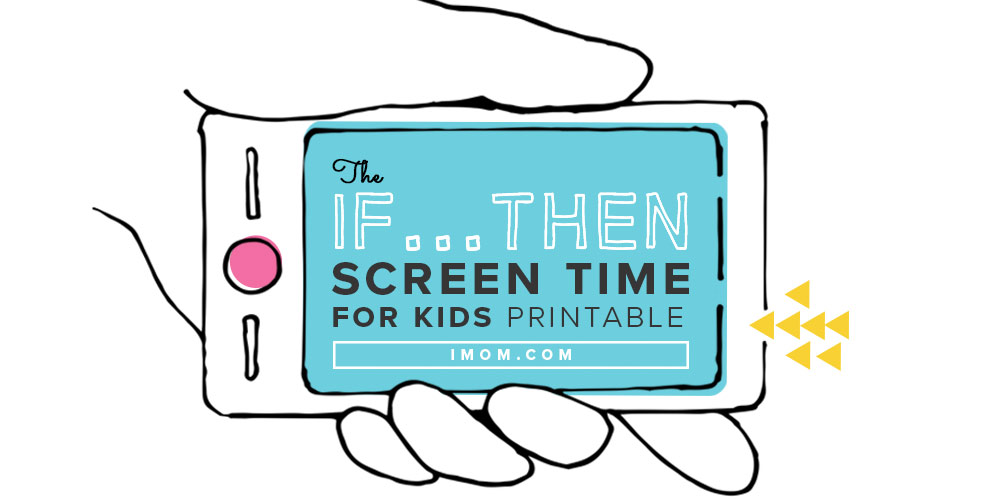 Why You Should Say Yes To Screen Time IMom