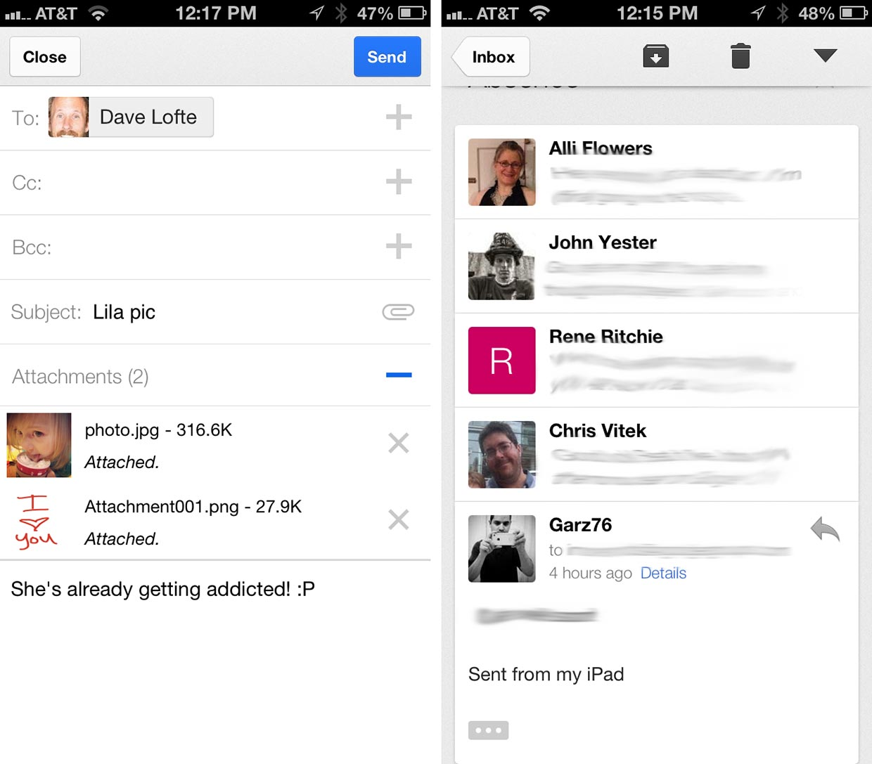 Gmail For Iphone And Ipad Gets Redesigned Adds Multiple