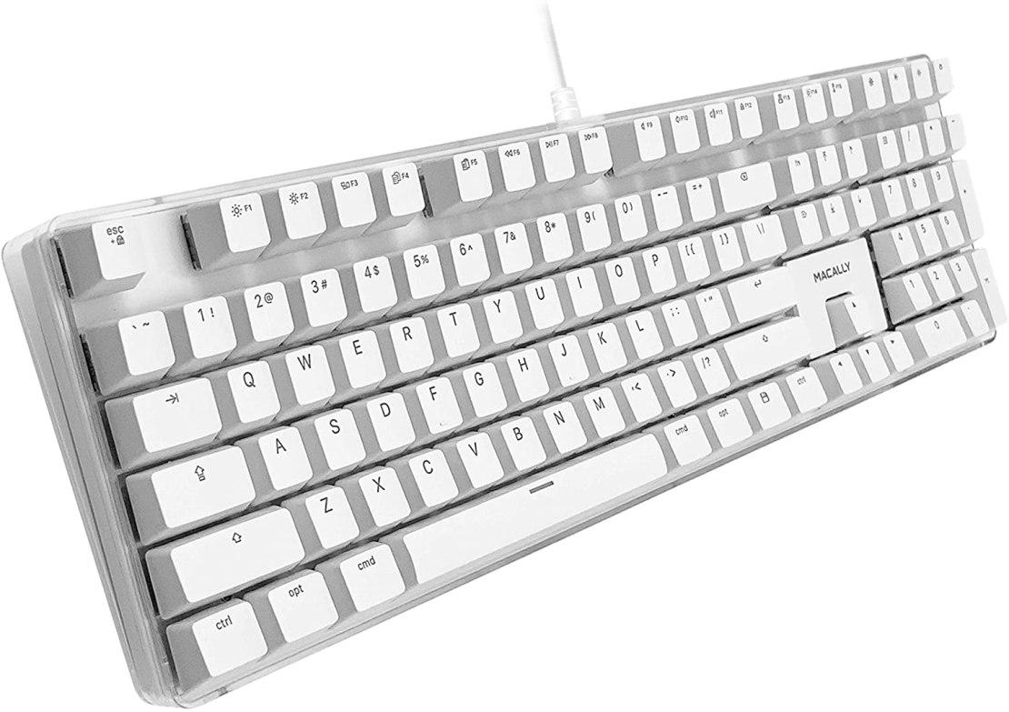 Macally Backlit Mechanical Keyboard Mac
