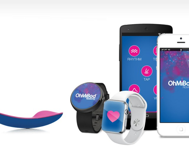 Ohmibods Connected Vibrators Buzz In Sync With Partners Heartbeat Controllable By Smartwatch Imore