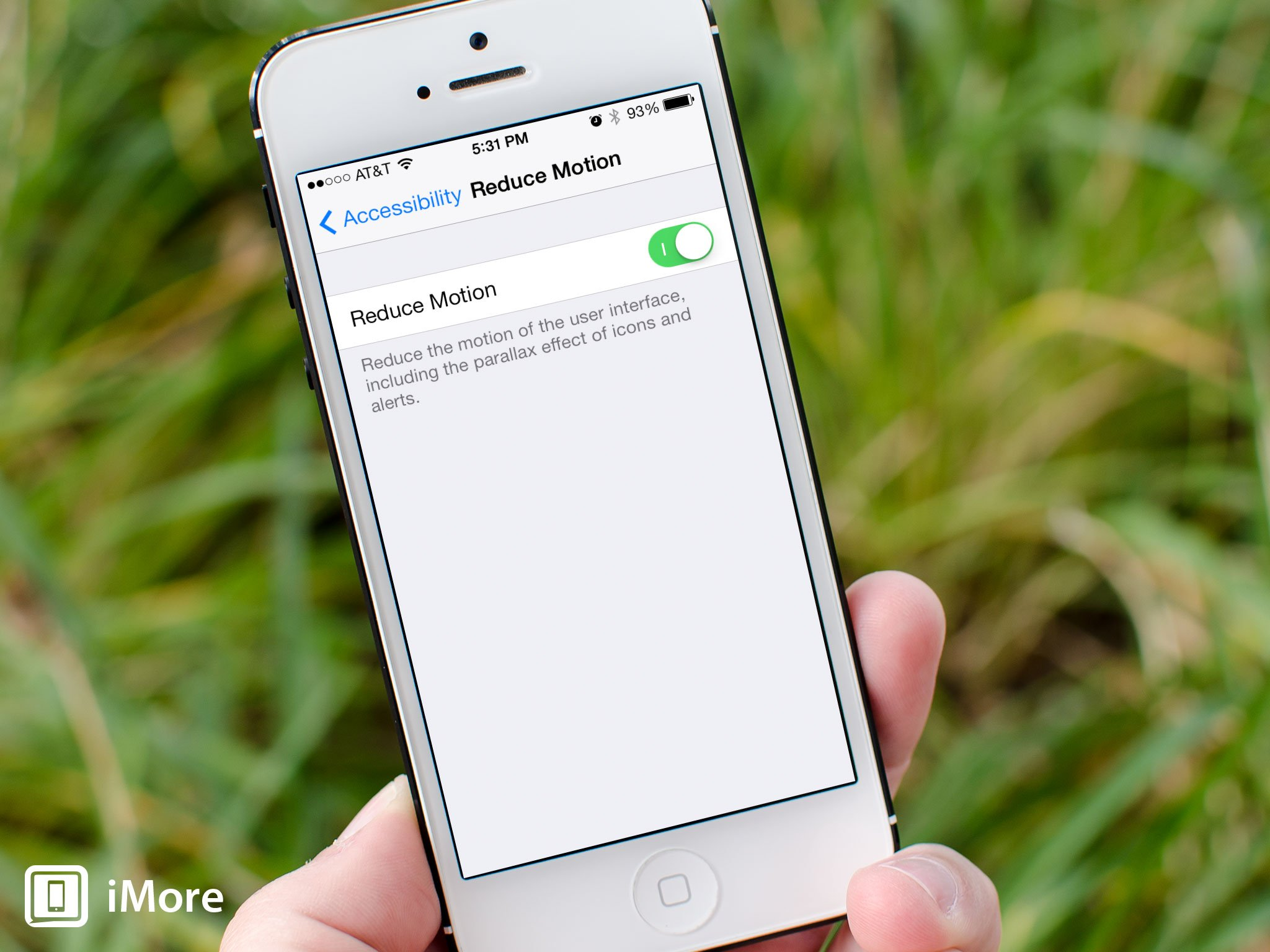 How to reduce motion and speed up transitions on iPhone and iPad with IOS 7.0.3