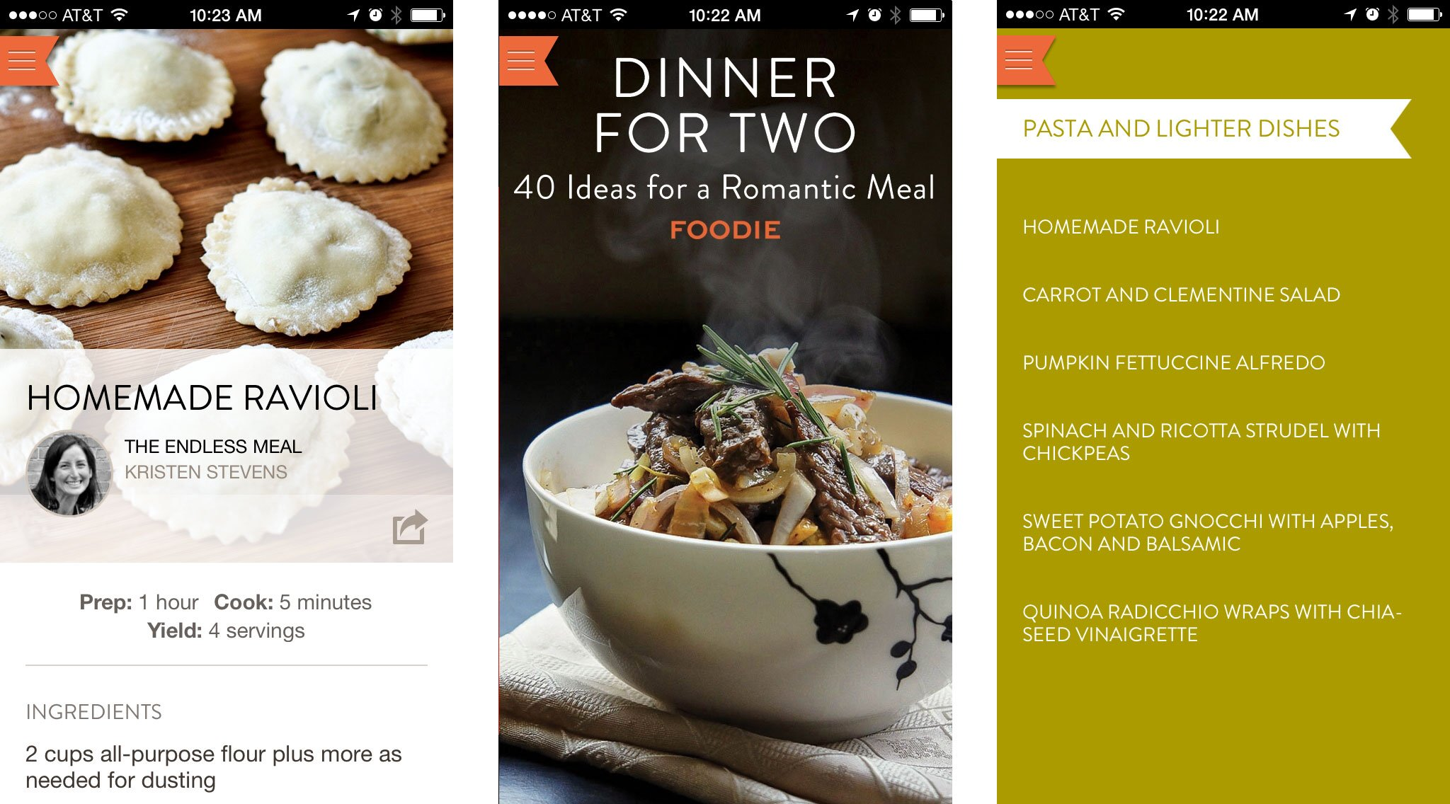 Best Valentine's Day apps for couples: Foodie