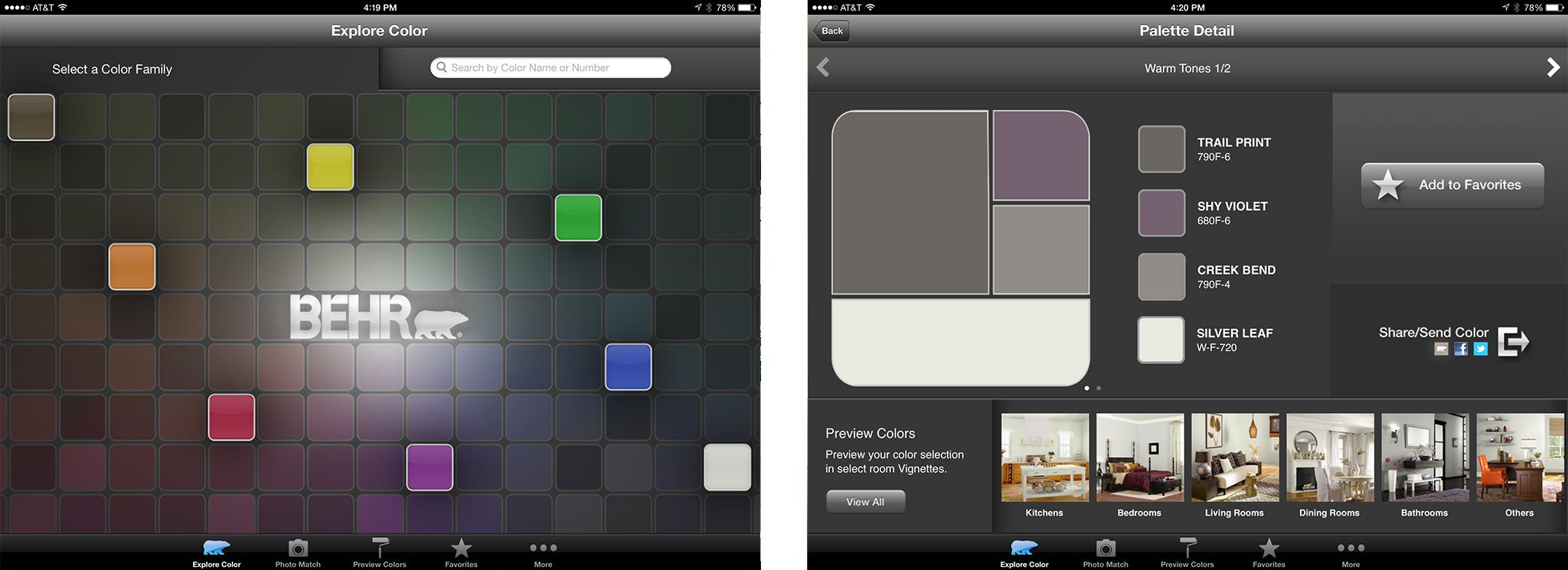 Best home design and improvement apps for iPad: ColorSmart by BEHR