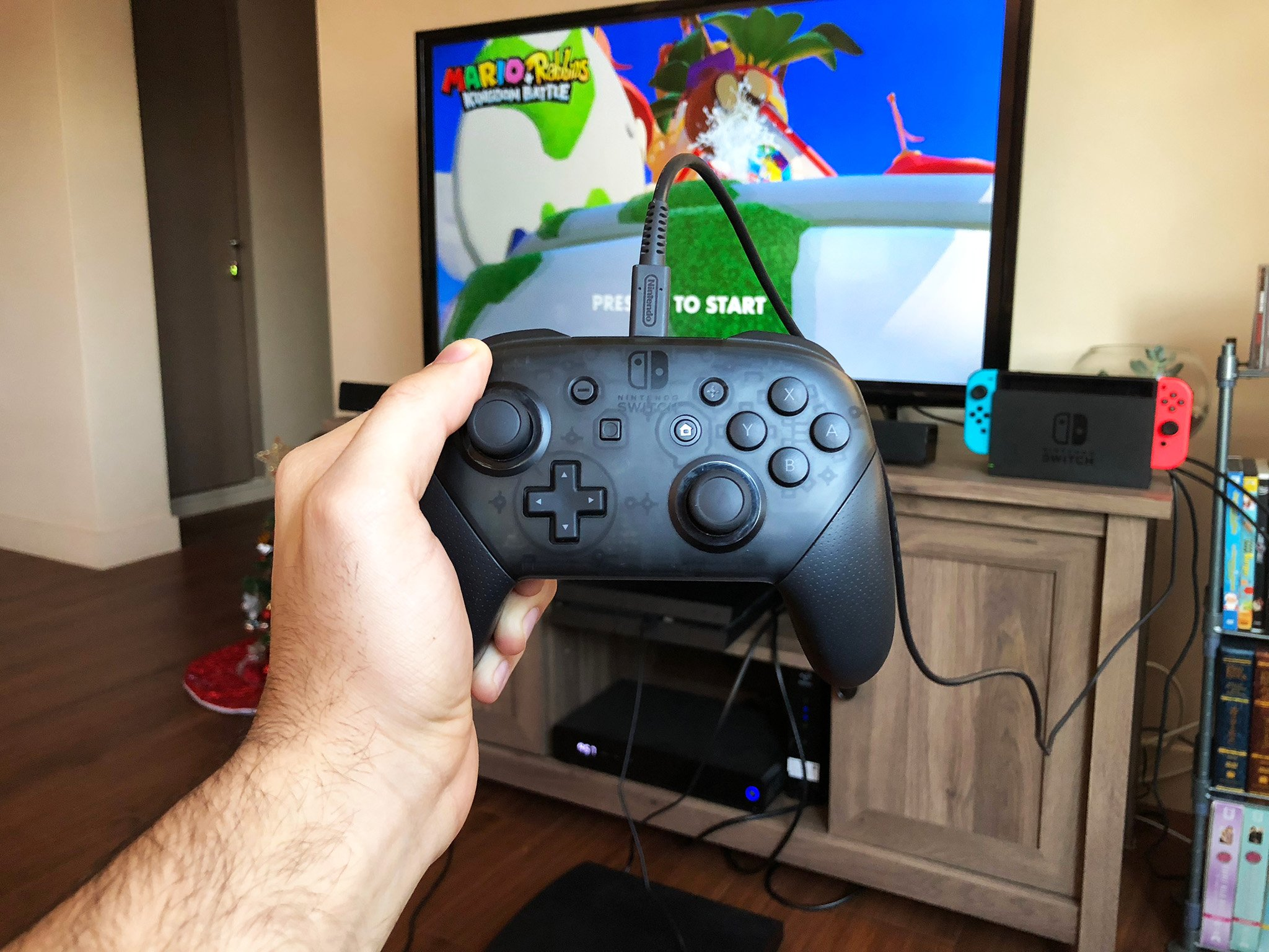 How To Use A Nintendo Switch Pro Controller In Wired Mode IMore