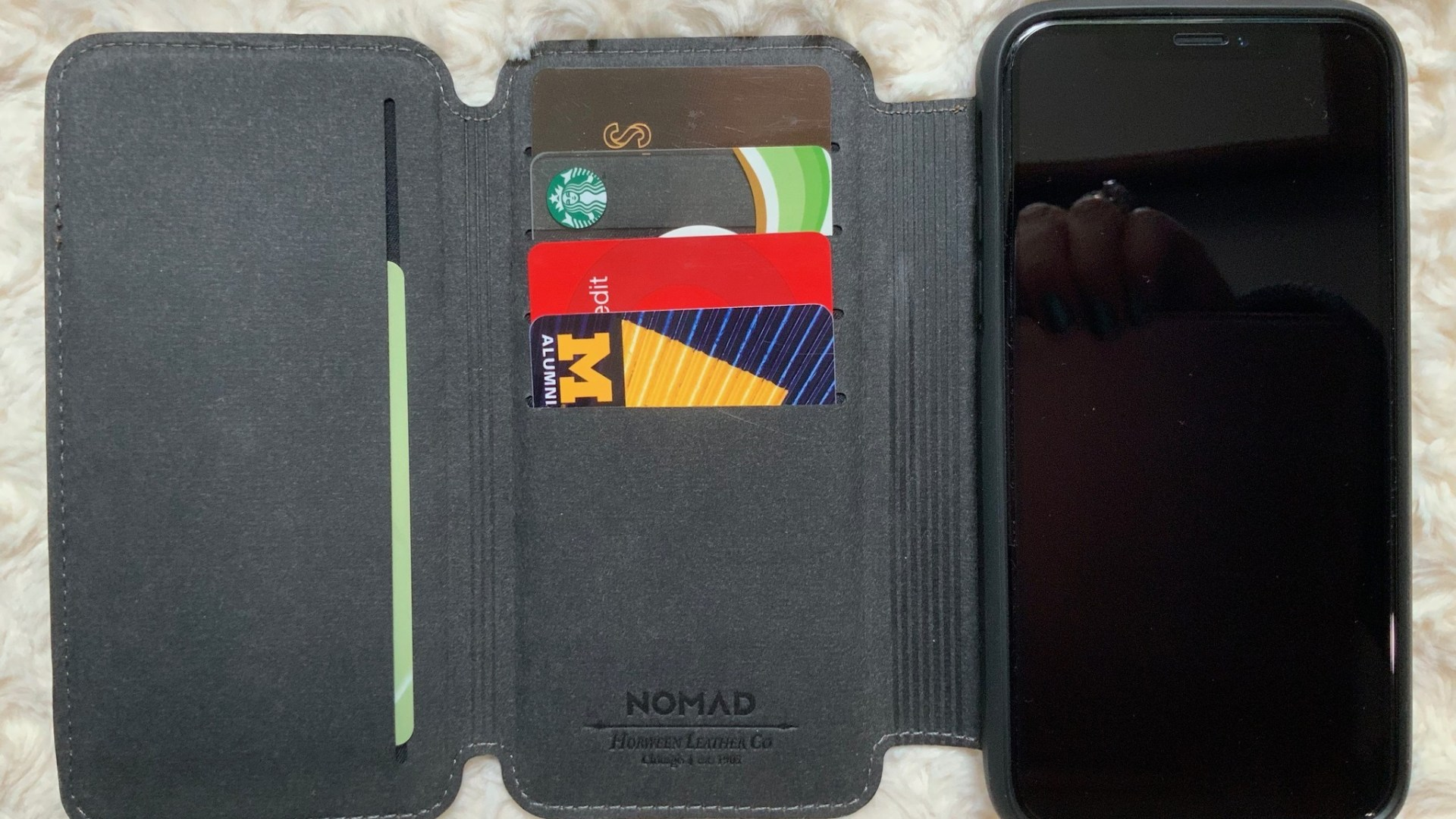 Nomad's Rugged Tri-Folio iPhone Wallet Case review: Deluxe wallet folio