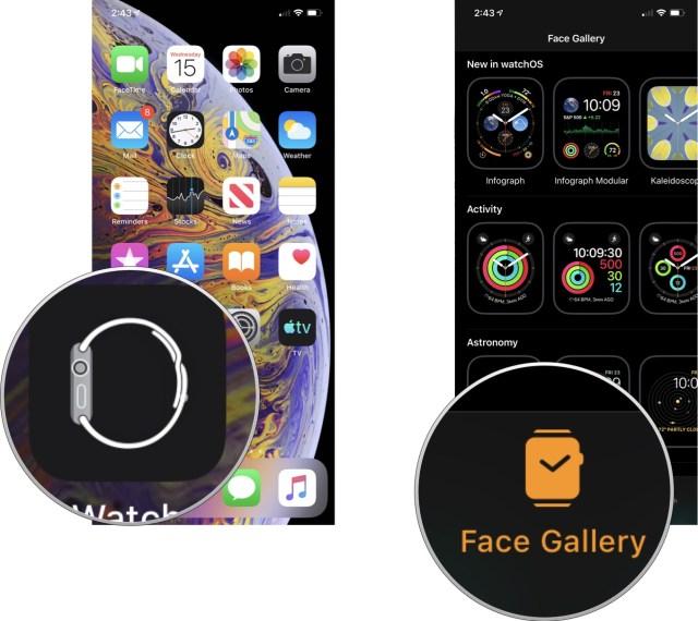 Apple Watch face gallery