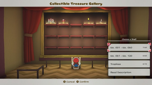 Paper Mario The Origami King Collectible Museum