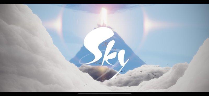 Sky Title Screen