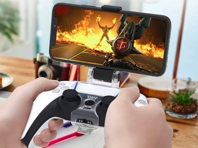 Orzly Ps5 Controller Iphone Mount Lifestyle