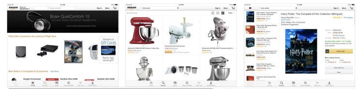 Amazon Screenshot Ipad