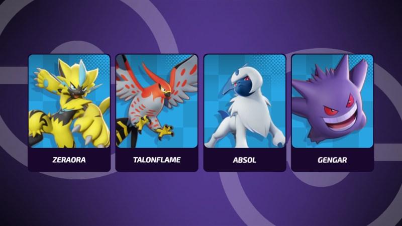 Pokemon Unite Speedsters