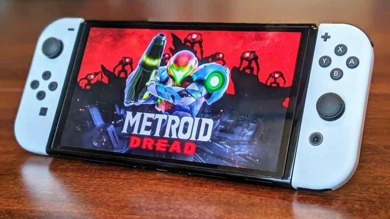 Nintendo Switch Oled Model Metroid Dread