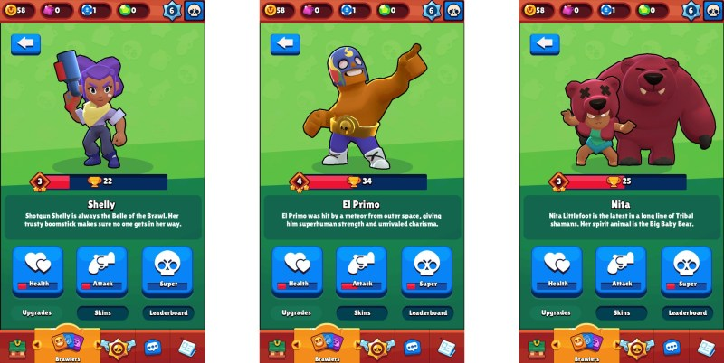 Image result for brawl stars brawlers