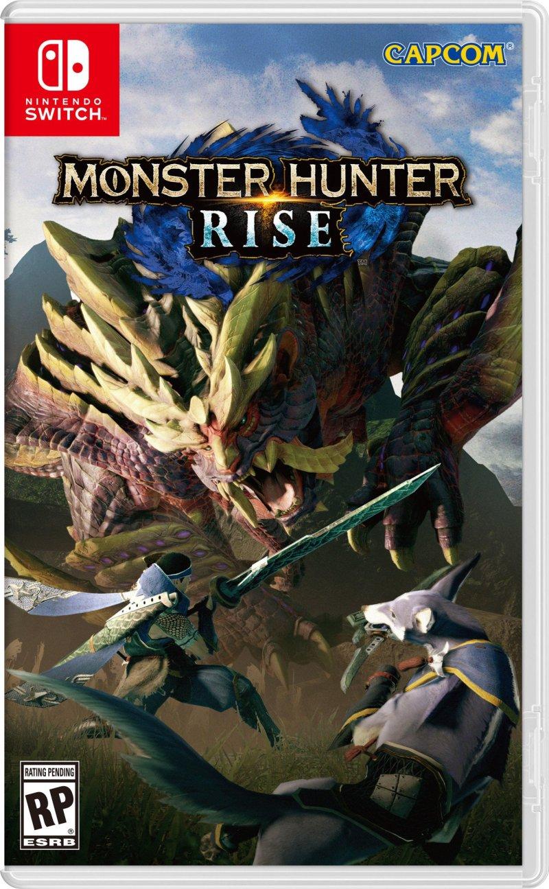 Monster Hunter Rise Standard Box Art