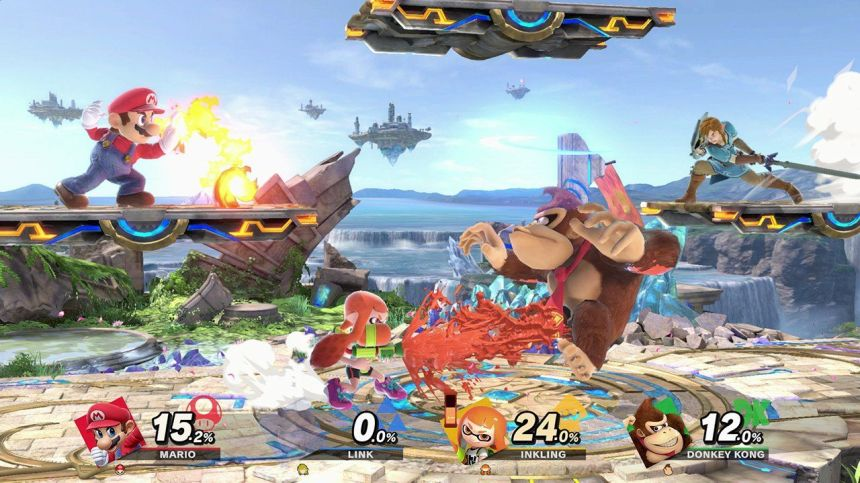 Image result for super smash bros ultimate gameplay