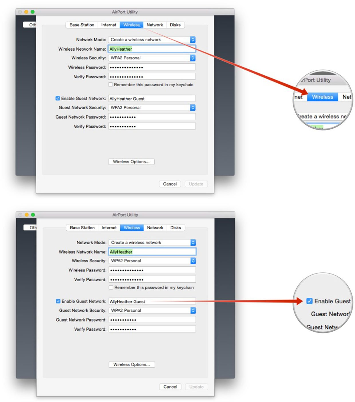 Mac Help: Creating a guest network