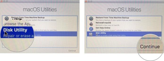 eDisk Utility on Mac