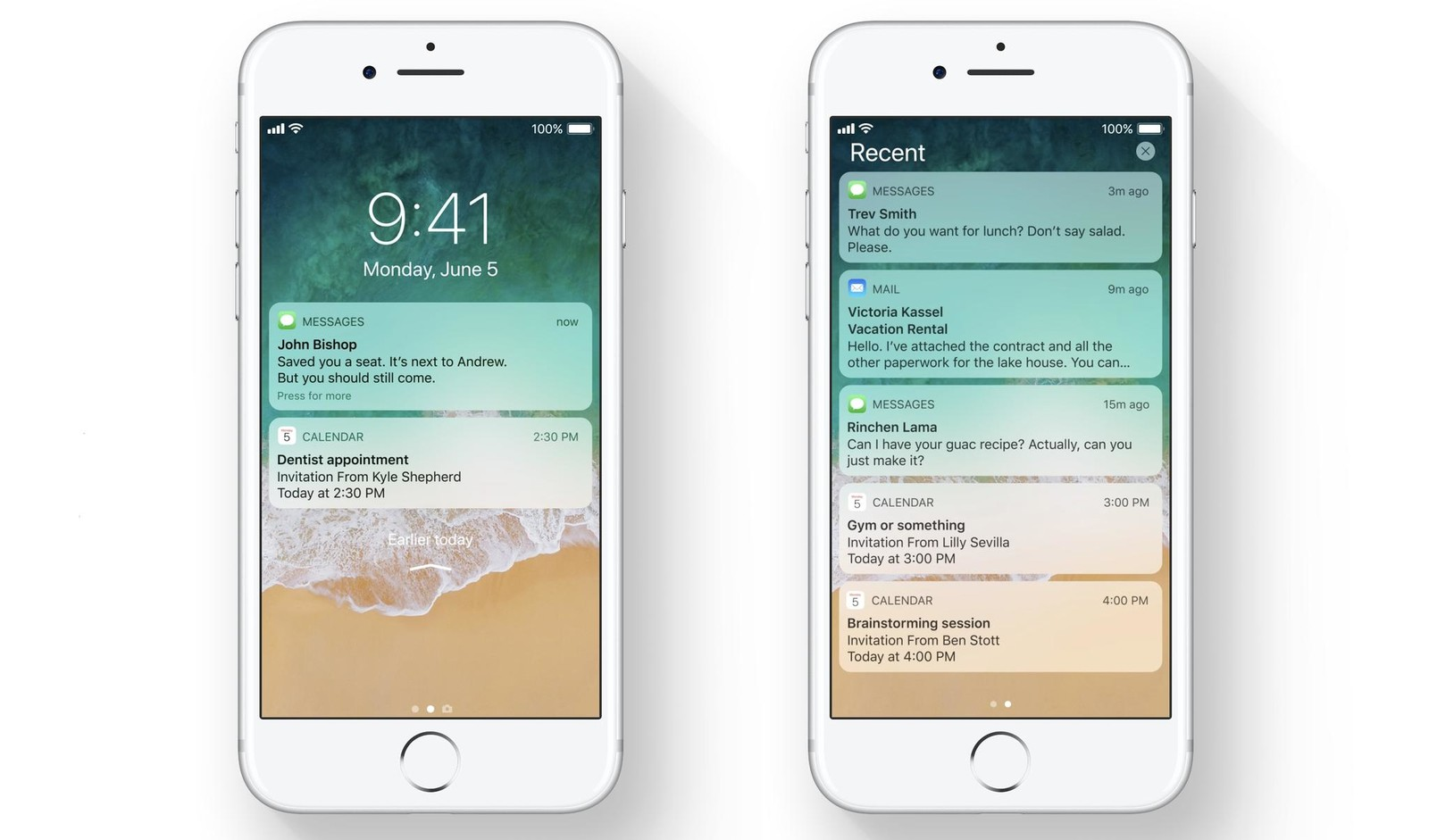 Get to know Cover Sheet  iOS 11 s new Notification Center   iMore the new Cover Sheet in iOS 11