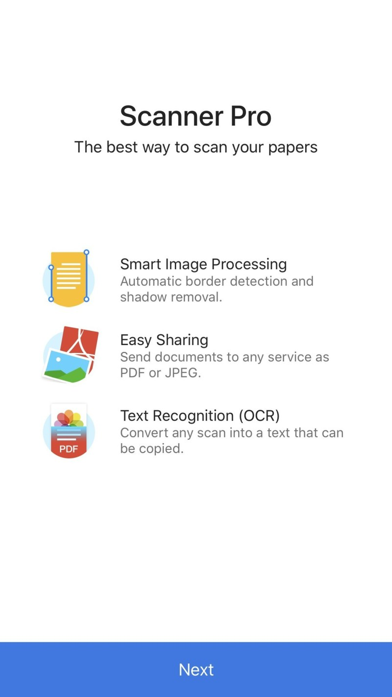 Scanner Pro for iOS