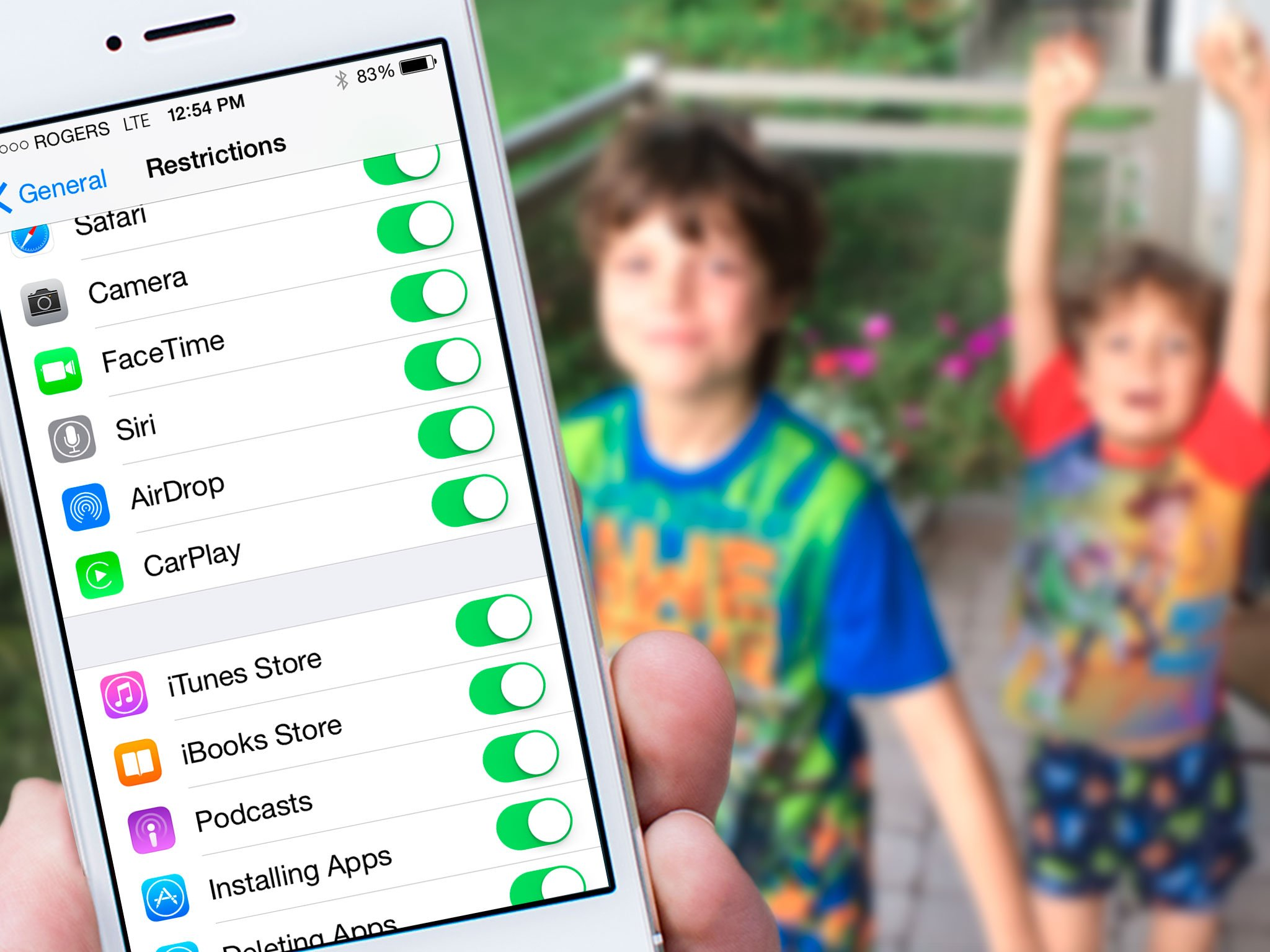 How To Restrict Airdrop With Parental Controls For Iphone And Ipad