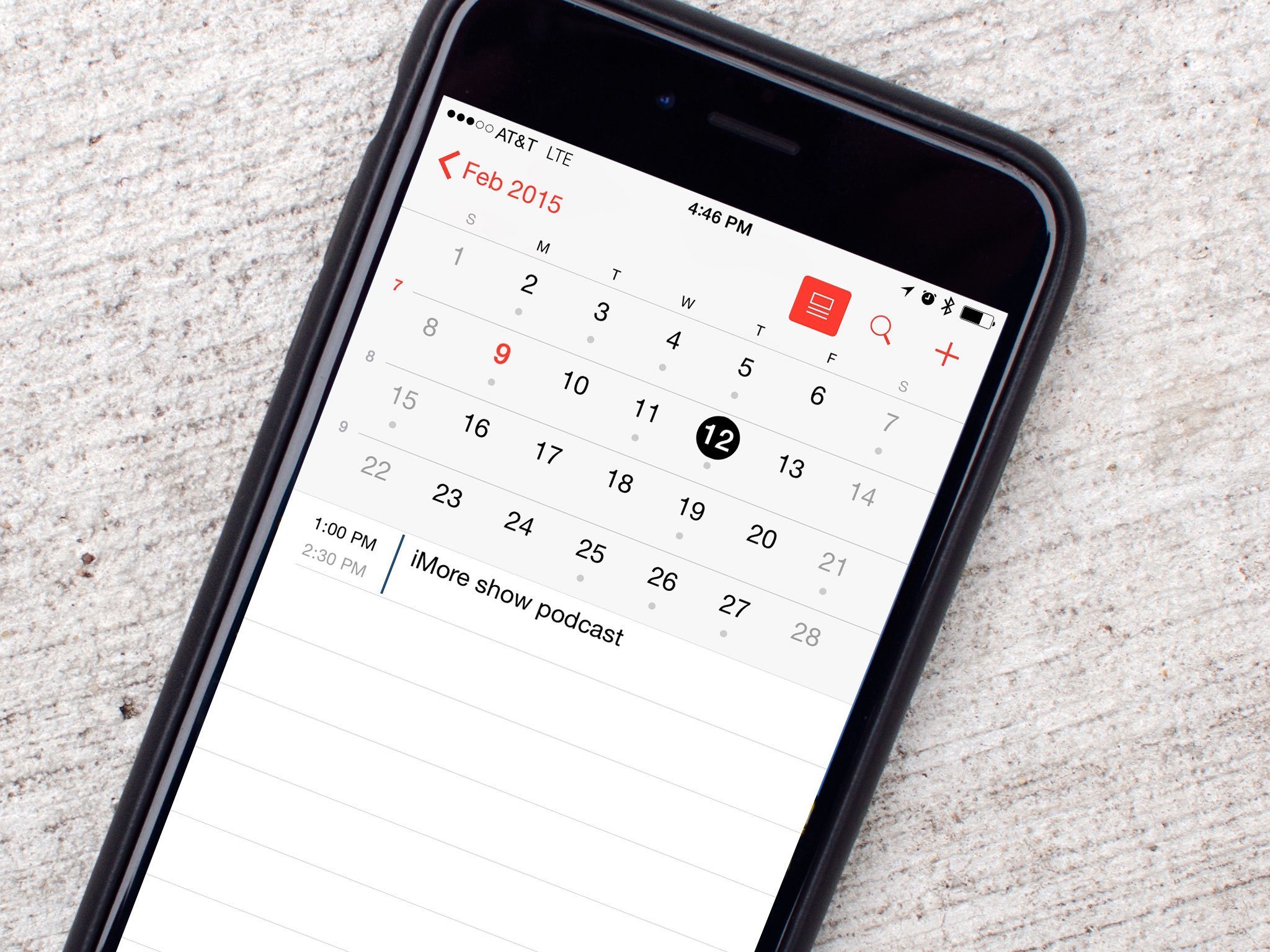Image Result For Calendar Iphone