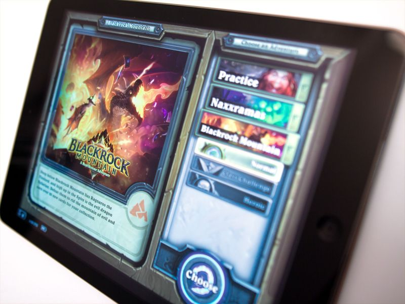 The best iOS games  Collectible Card Game edition   iMore An iOS device feels like the perfect fit for a collectible card game  An  iPhone is about the size of a card  and an iPad screen is big enough to  display a