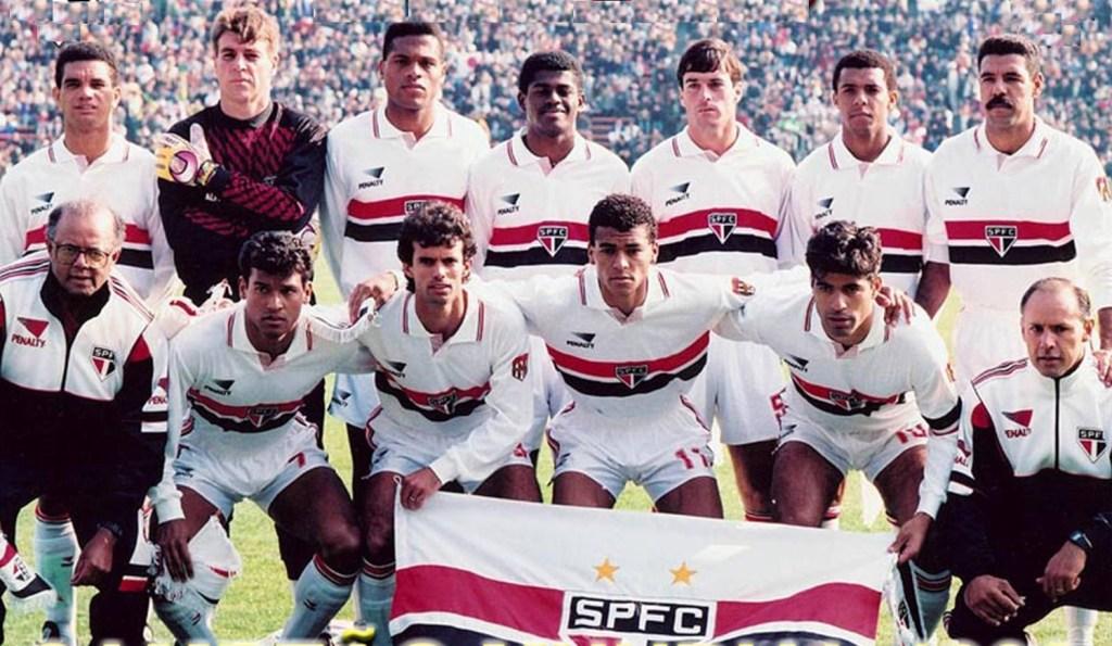 Resultado de imagem para elenco são paulo campeão do mundo 1992