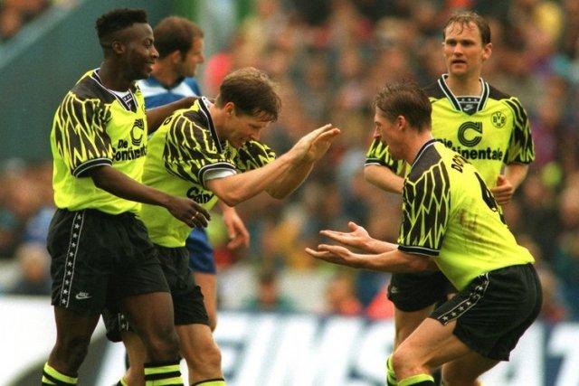 Fußball-Bundesliga: Dortmunder üben den Meister-Jubel