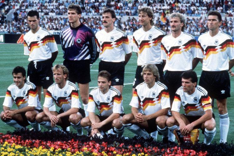 Fussball WM 1990 Italien
