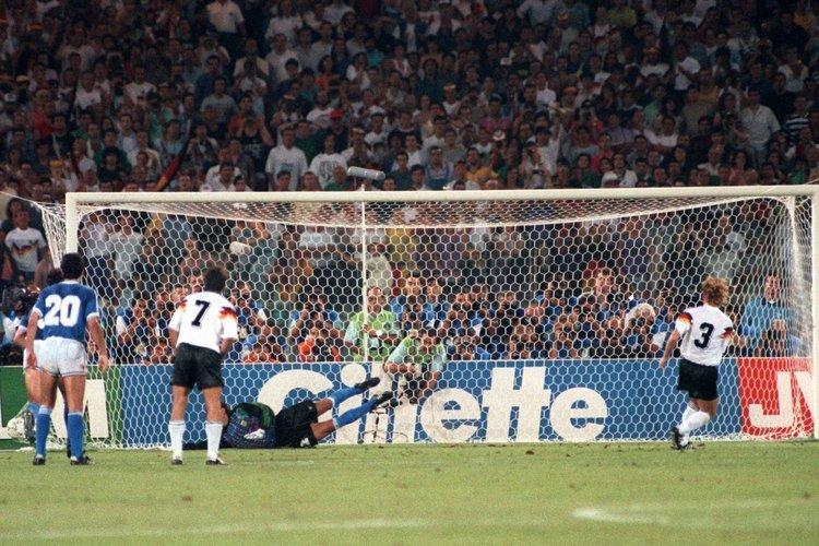 Fußball WM 1990: Finale Deutschland - Argentinien
