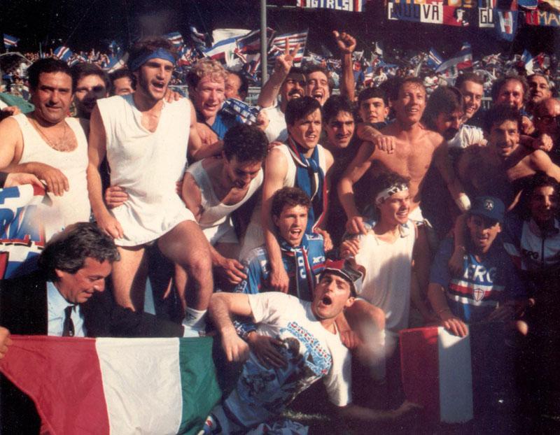 Festeggiamenti_Scudetto_Sampdoria_1990-1991