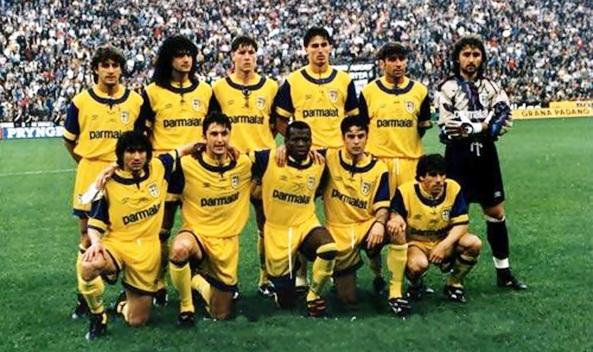 Esquadrão Imortal – Parma 1991-1995