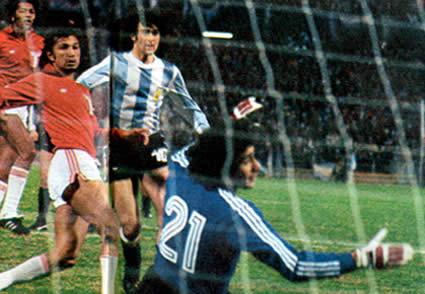 photoblog Los goles llegaron de todas formas en el Argentina Peru del Mundial del 78