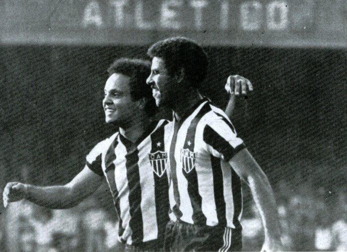 Reinaldo e Cerezo: dupla inesquecível dos anos 70 e 80 no Galo.