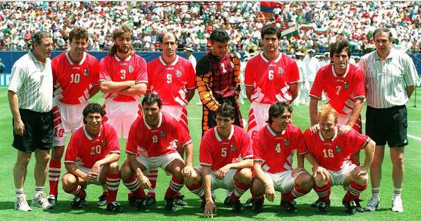 Seleções Imortais – Bulgária 1994