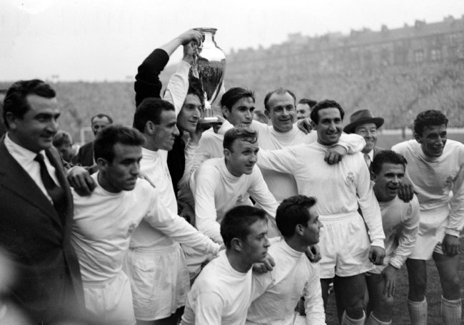 Real Madrid v Frankfurt 1960