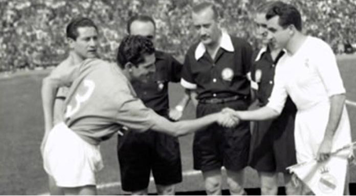 Real Madrid vs Millonarios 1952