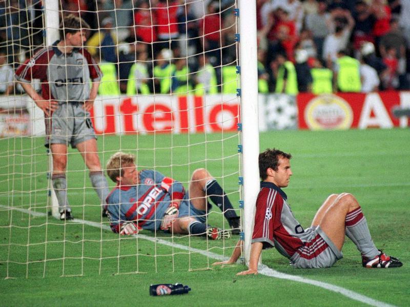 Desolados, jogadores do Bayern não acreditavam no que tinha acabado de acontecer.