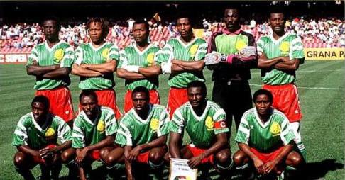 Seleções Imortais – Camarões 1988-1990