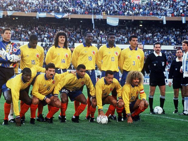 Seleções Imortais – Colômbia 1990-1994