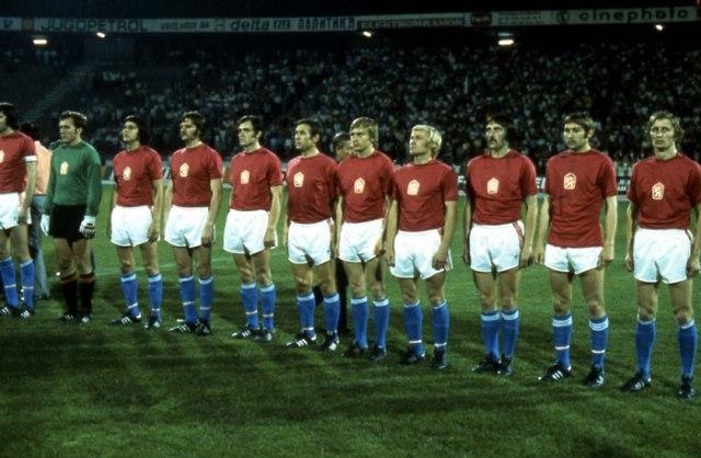 Seleções Imortais – Tchecoslováquia 1976