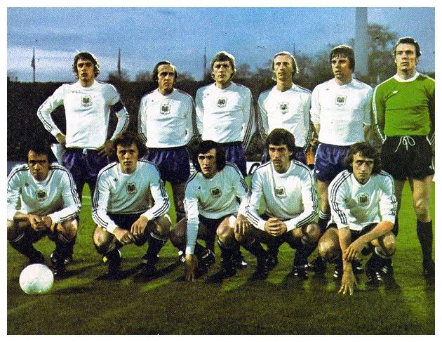 Esquadrão Imortal – Anderlecht 1973-1978