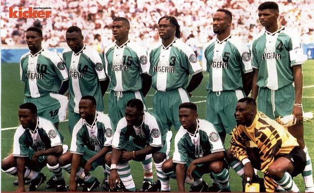 Nigéria Champion Olympique 1996 HOME