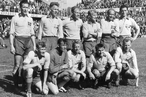 Até 1994, a última grande seleção sueca foi a equipe vice-campeã do mundo de 1958.