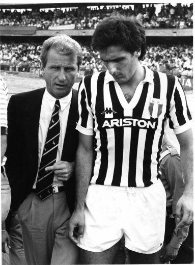 Trapattoni e Scirea: dupla de ouro da Juventus.