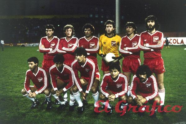 Argentinos Júniors Campeão da Copa Libertadores da América de 1985